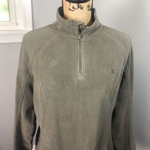 THE NORTHFACE FLEECE HALF ZIP PULLOVER